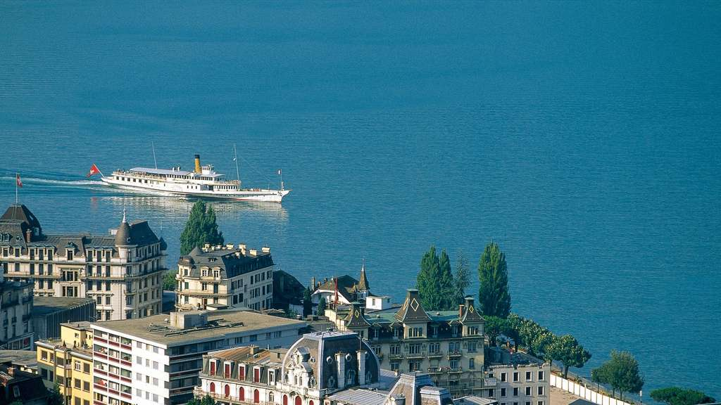 Montreux am Genfersee.