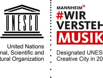 Logo Mannheim UNESCO City of Music