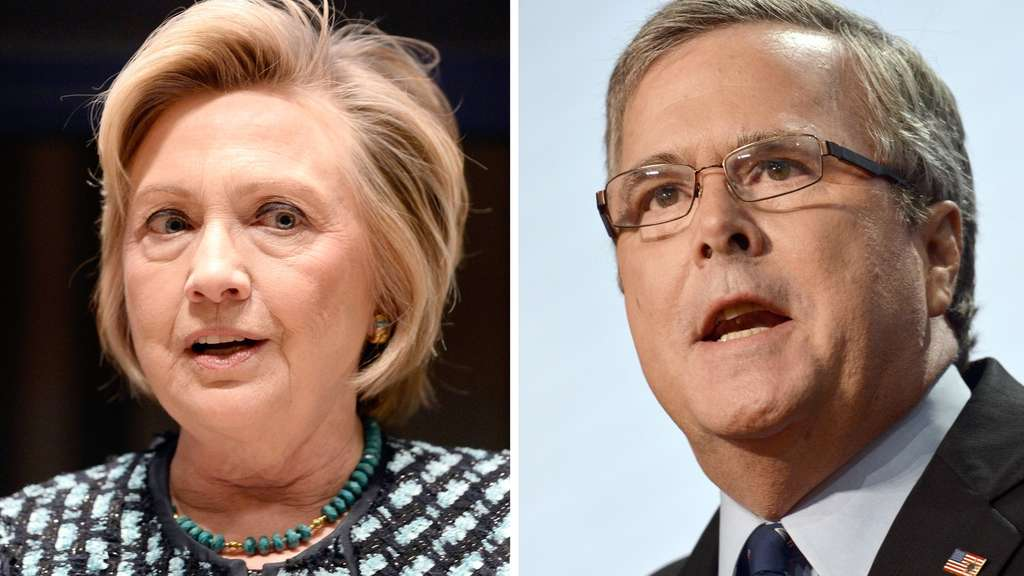 bush-clinton-dpa