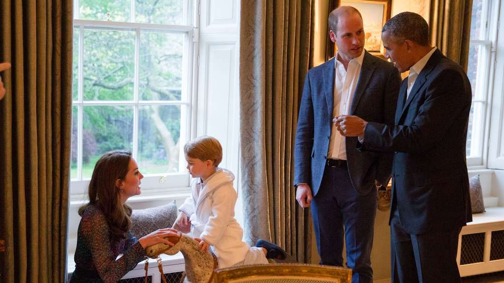 obama-william-kate-prinz-george-pyjama-afp