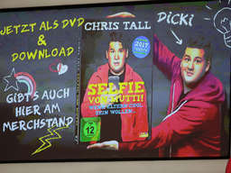 Comedian Chris Tall in der SAP Arena