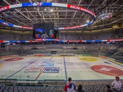 Umbau fertig! Tolle Video-Technik in SAP Arena