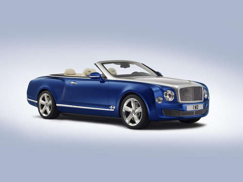 Das ist Luxus! Bentley Grand Convertible