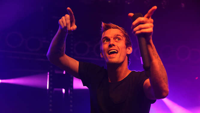 (Ex-)Teenie-Star Aaron Carter in Alter Seilerei