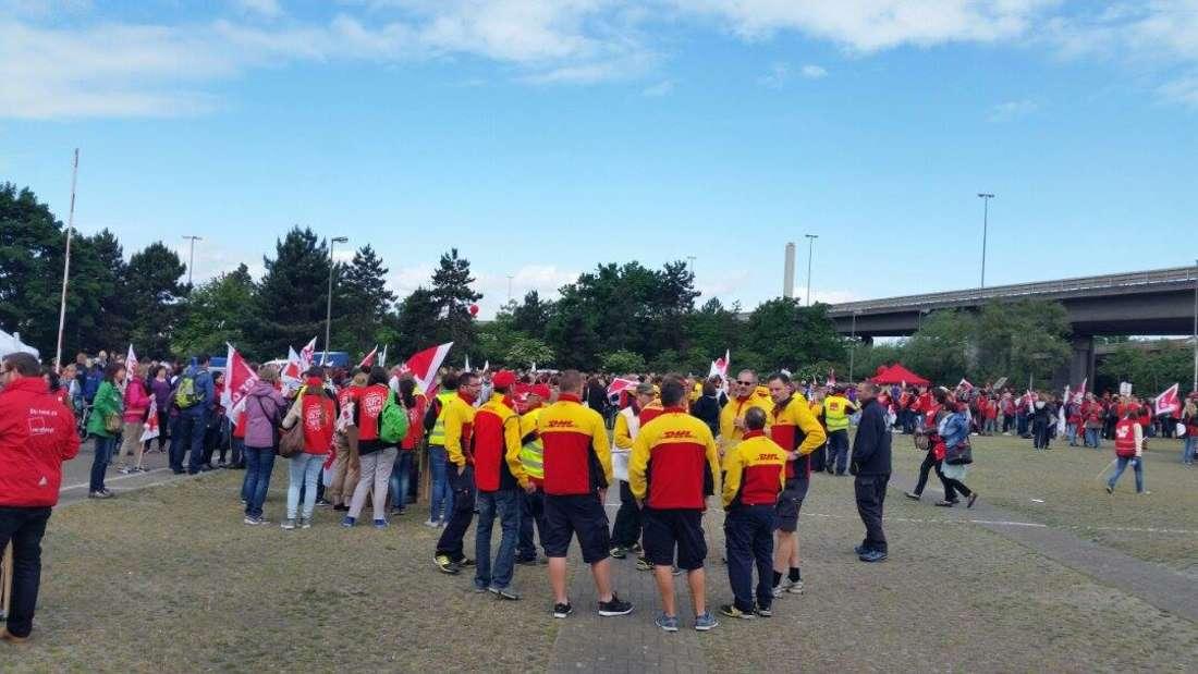 Streik, Erzieher, Ludwigshafen, 19.5.2015