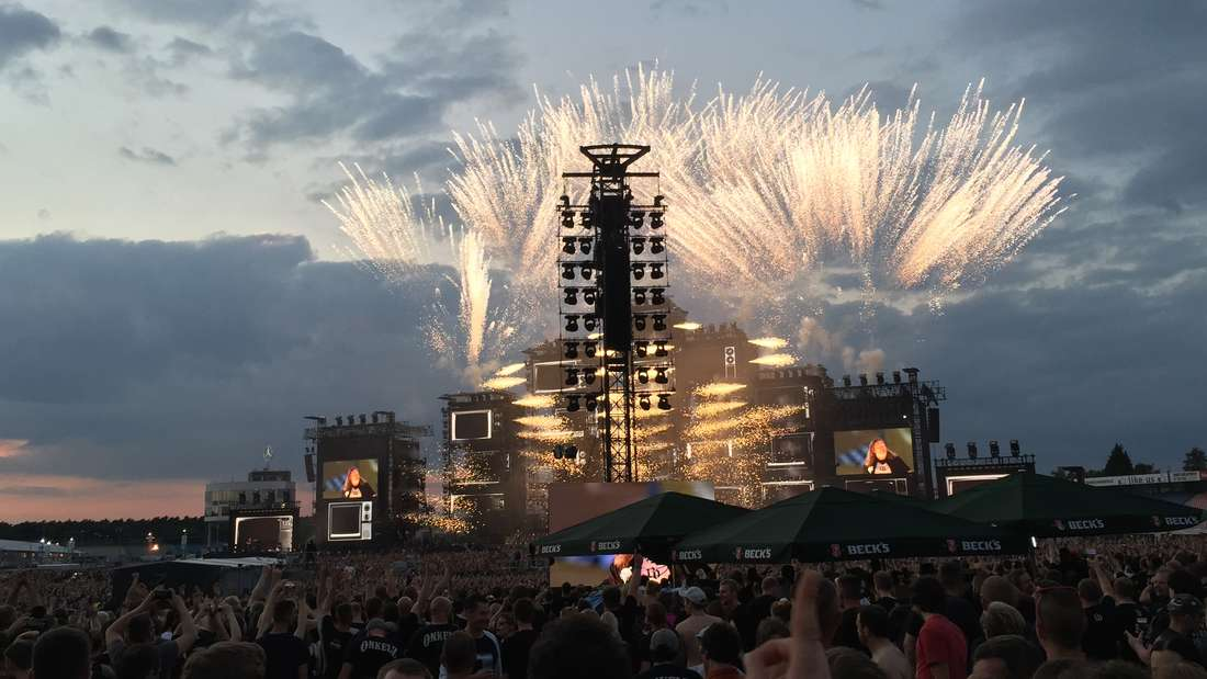 Der krönende Abschluss: Das Konzert der Böhsen Onkelz auf dem Hockenheimring am 27. Juni.