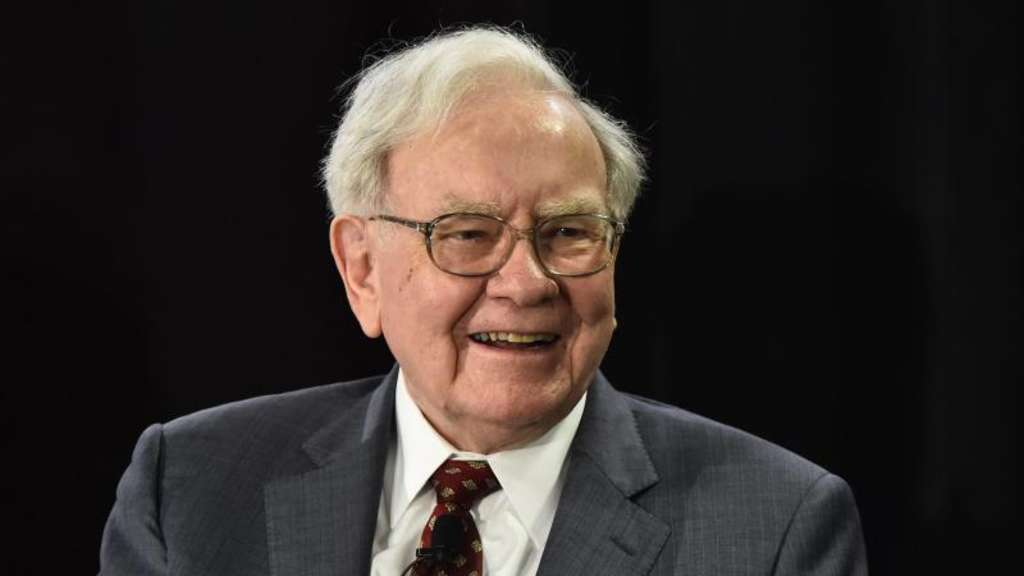 Warren Buffett tut Gutes. Foto: Larry W. Smith