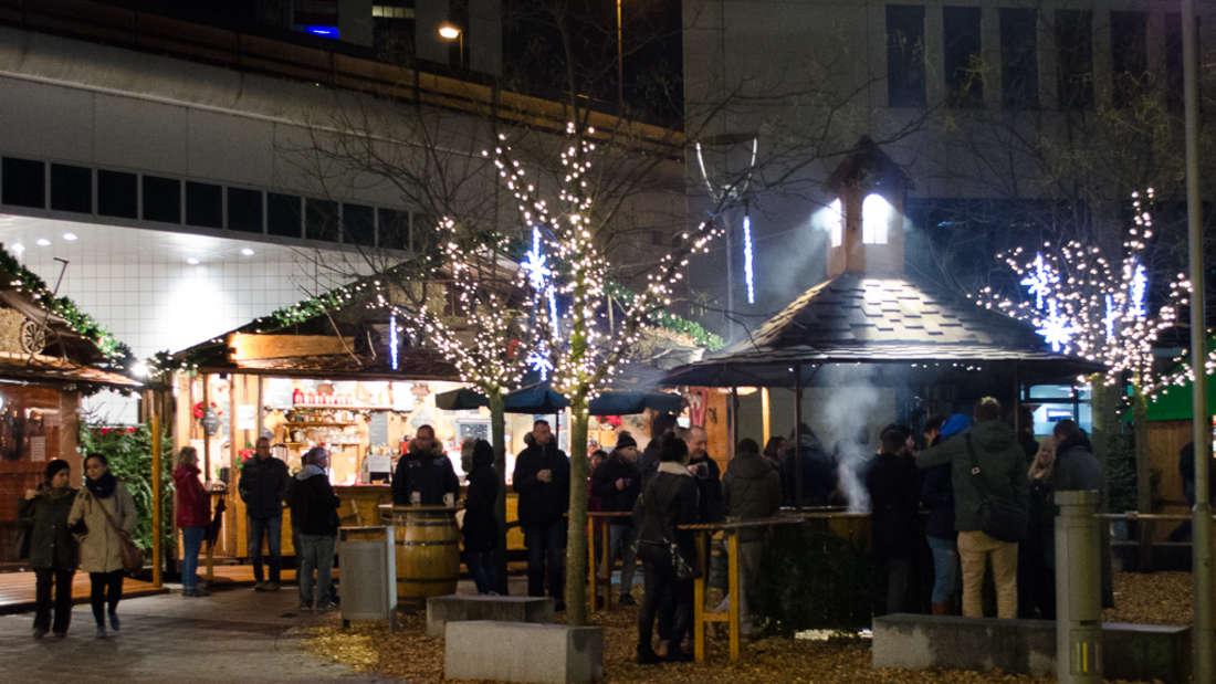 Ludwigshafener Weihnachtsmarkt öffnet seine Pforten.