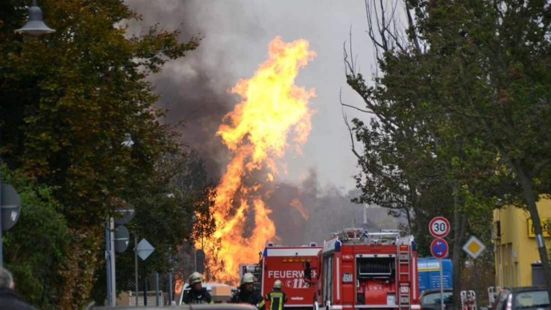 Gasexplosion in Oppau