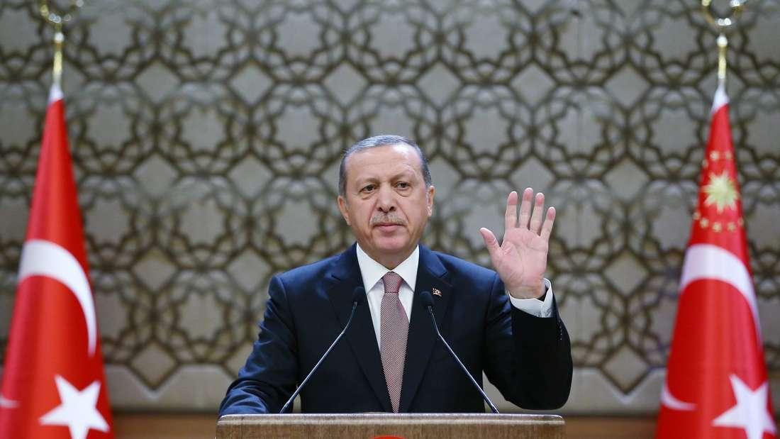 Sorgt auch im neuen Jahr für Verwunderung: Der türkische Präsident Recep Tayyip Erdogan will seine Macht ausbauen.
