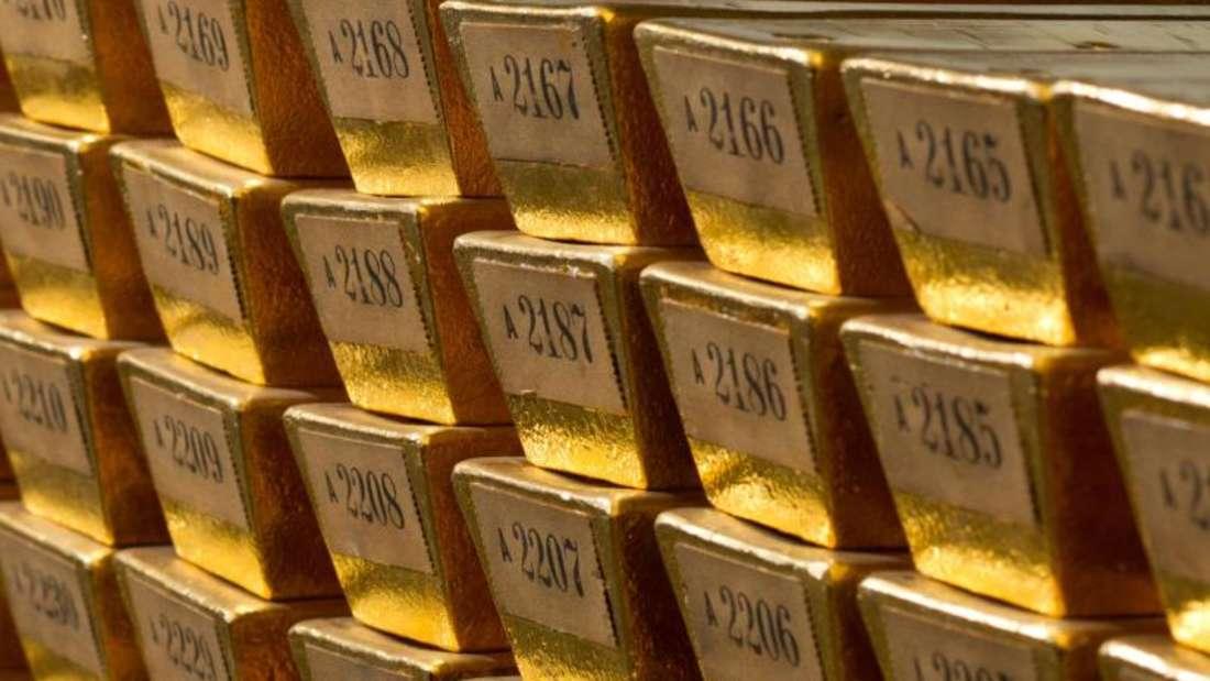 Die AfD erhält für ihren Gold-Umsatz wegen einerNovelle des Parteiengesetzes zwar kein staatliches Geld mehr. Dafür erhielt die Partei aber mehr Spenden. Foto: Bundesbank/dpa/Archiv