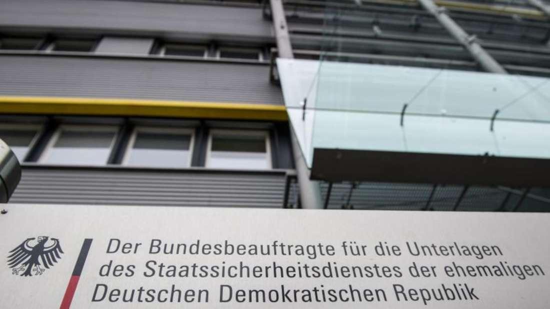 In der Bundesbehörde für die Stasi-Unterlagen sind noch immer frühere Stasi-Mitarbeiter beschäftigt. Foto: Paul Zinken