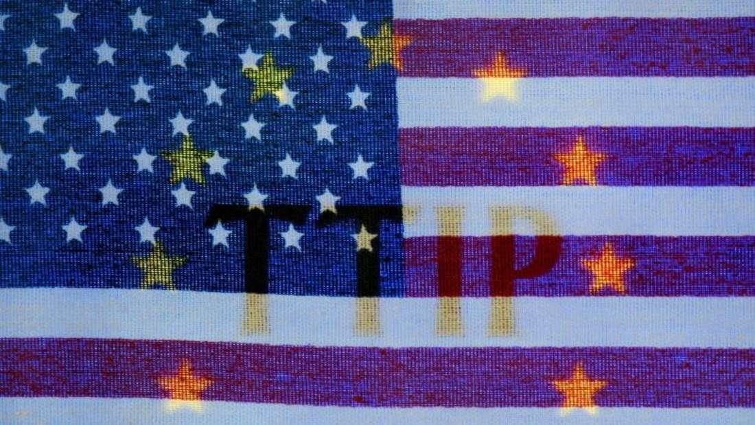 Zumindest die Eckpunkte des TTIP-Abkommens sollten nach Ansicht des BDI bis Ende des Jahres stehen. Foto: Arno Burgi