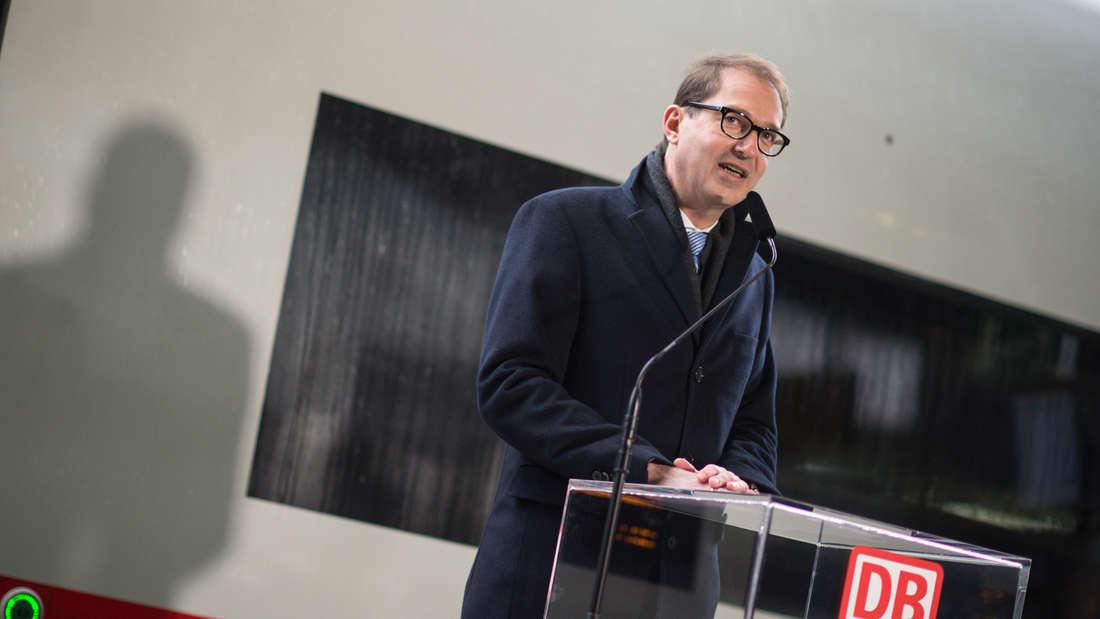 Bundesverkehrsminister Alexander Dobrindt CSU