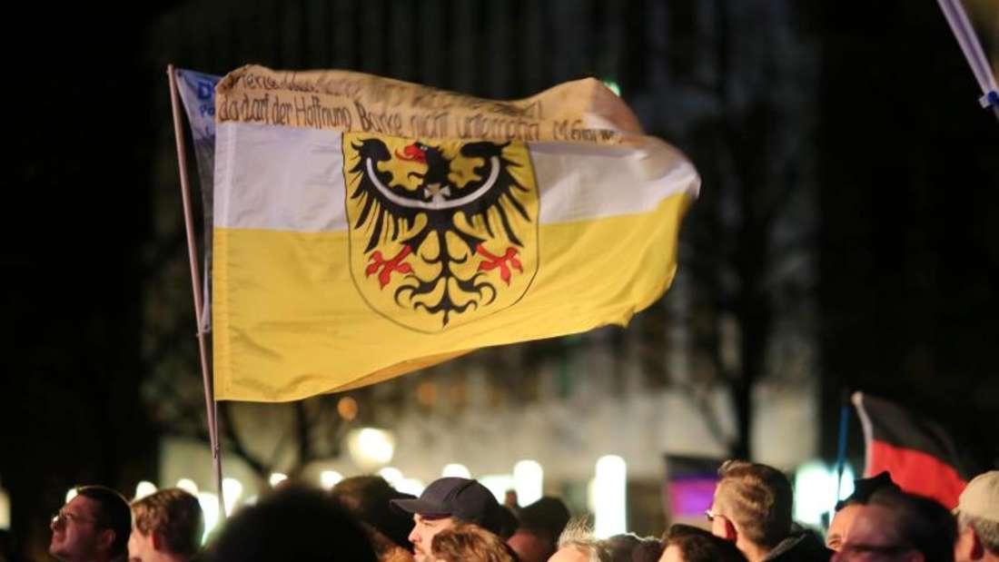 Zu der Demonstration waren rund 600 Teilnehmer gekommen. Foto: Peter Gercke