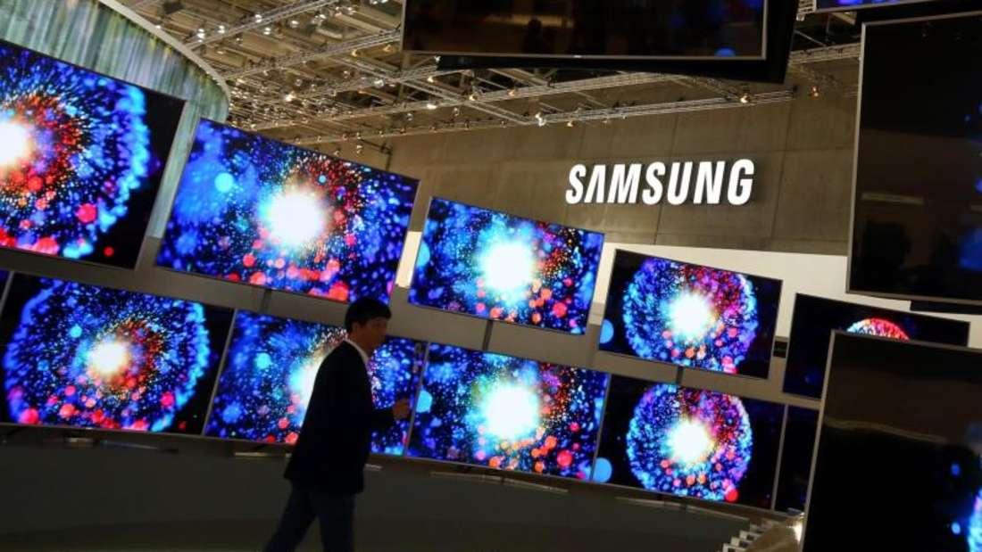 Für das erste Quartal 2016 erwartet Samsung eine schwächereNachfrage nach Smartphones und Tablet-Computern. Foto: Wolfgang Kumm
