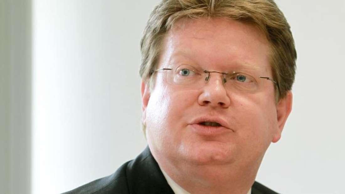 Arndt Neuhaus, Vorstandsvorsitzender RWE Deutschland AG. Foto: Roland Weihrauch