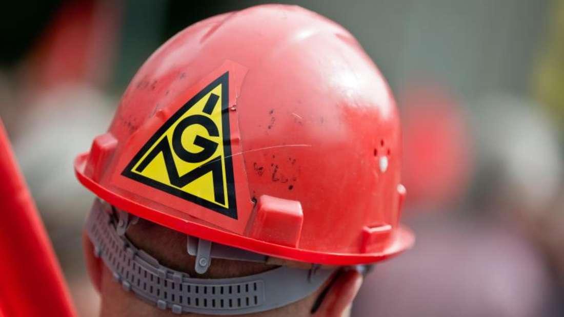 Von den sieben IG-Metall-Bezirken wich nur Nordrhein-Westfalen mit einer Forderungsspanne zwischen 4,5 und 5 Prozent etwas nach unten ab. Foto: Daniel Karmann
