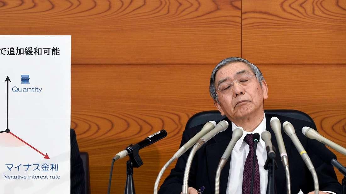 Japan, Notenbank, Leitzins