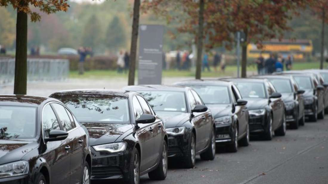 Wird ab 2017 um elektrisch betriebene Autos erweitert: die Fahrbereitschaft des Deutschen Bundestages. Foto: Bernd von Jutrczenka