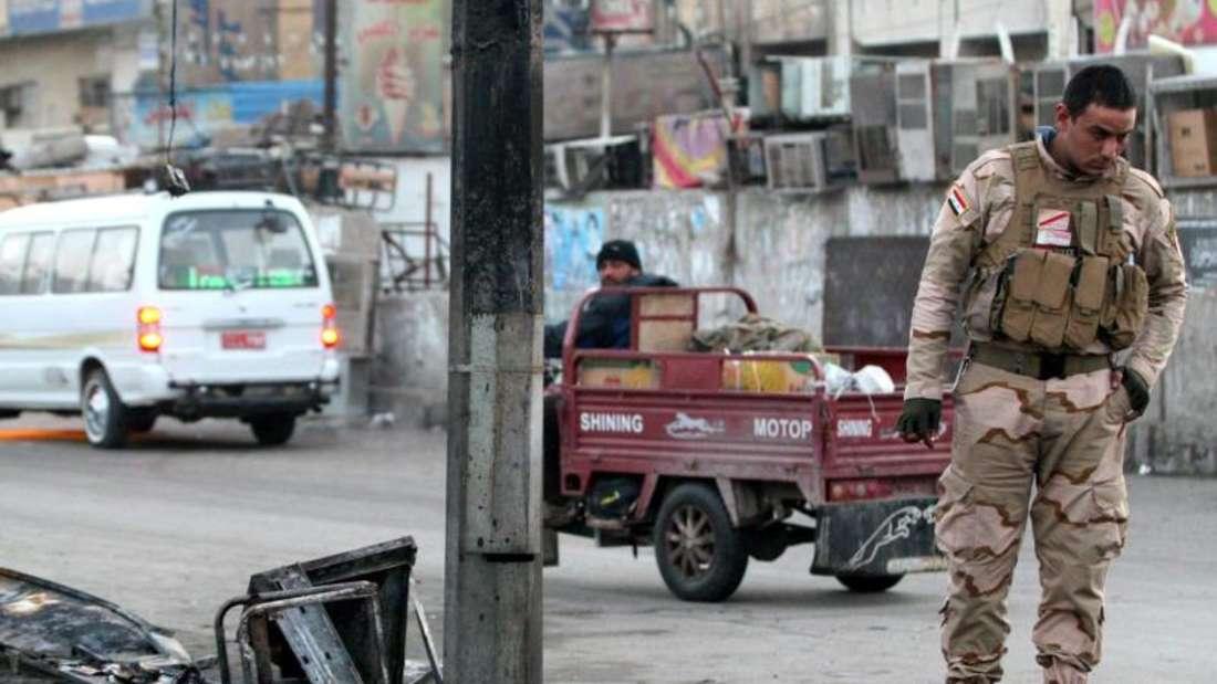 Erst im vergangenen August war es in Sadr City - einem überwiegend schiitischen Viertel von Bagdad - zu einem schweren Anschlag mit über 70 Toten gekommen. Nun rissen erneut Sprengsätze Unschuldige in den Tod. Foto: Ahmed Ali/Archiv