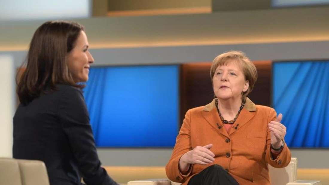 Die Kanzlerin warnte bei Anne Will erneut vor nationalen Alleingängen. Foto: Rainer Jensen