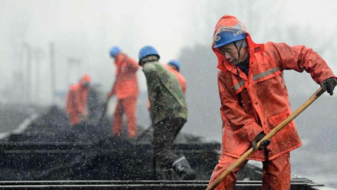 Chinas Führung will dieses Jahr etliche Kohlebergwerke schließen. Foto:Hu Guolin