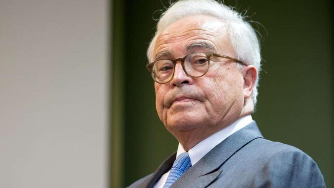 Der ehemalige Vorstandsvorsitzende der Deutschen Bank, Rolf Breuer. Foto: Sven Hoppe/Archivbild