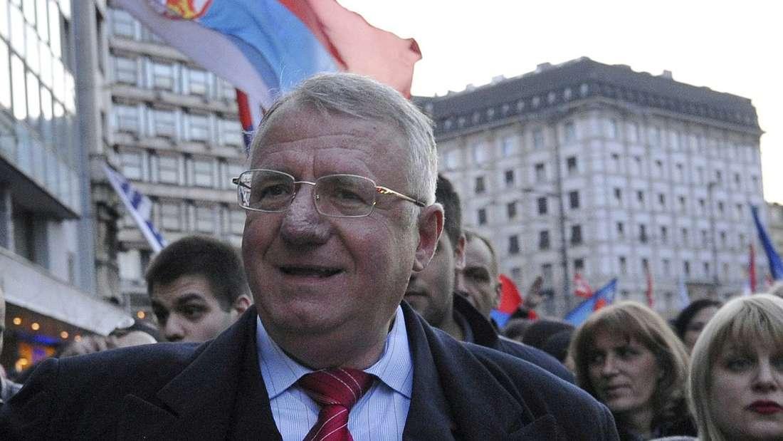 Vojislav Seselj wurde vom UN-Kriegsverbrechertribunal freigesprochen.