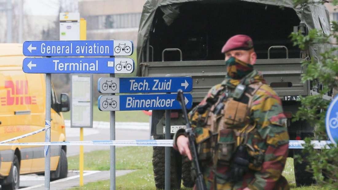 """Nach den Terrorattacken in Brüssel will die EU-Kommission die Sicherheit an Flughäfen nun """"angemessen"""" erhöhen."""