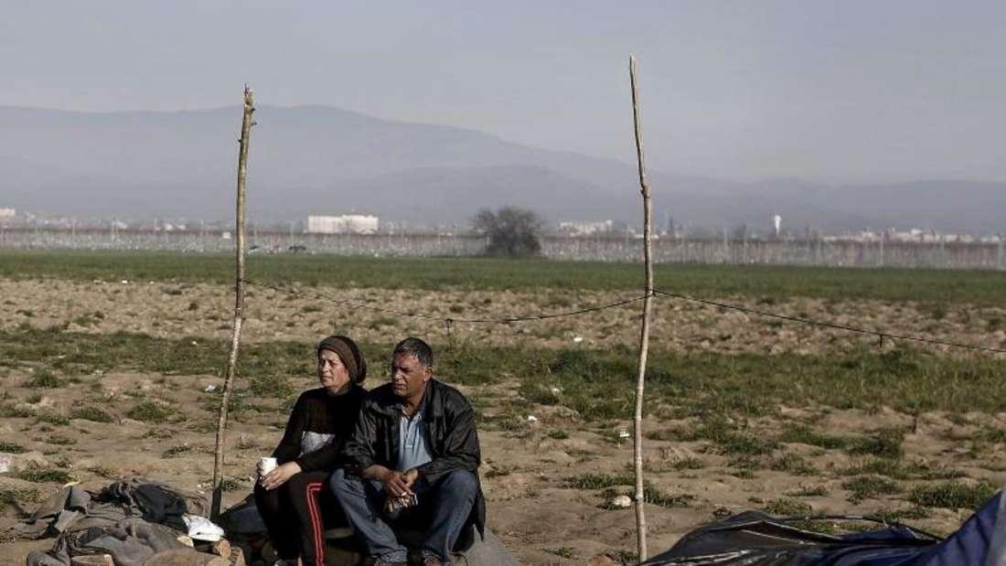 68 Prozent der in Griechenland festsitzenden Flüchtlinge wollen nach Deutschland. Foto: Kostas Tsironis
