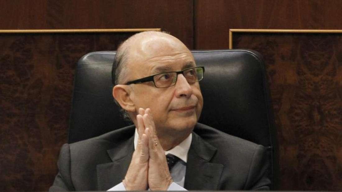 Der spanische Finanzminister Cristobal Montoro. Foto: J.J. Guillen
