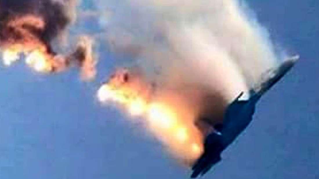 Türkei Russland Kampfjet Pilot