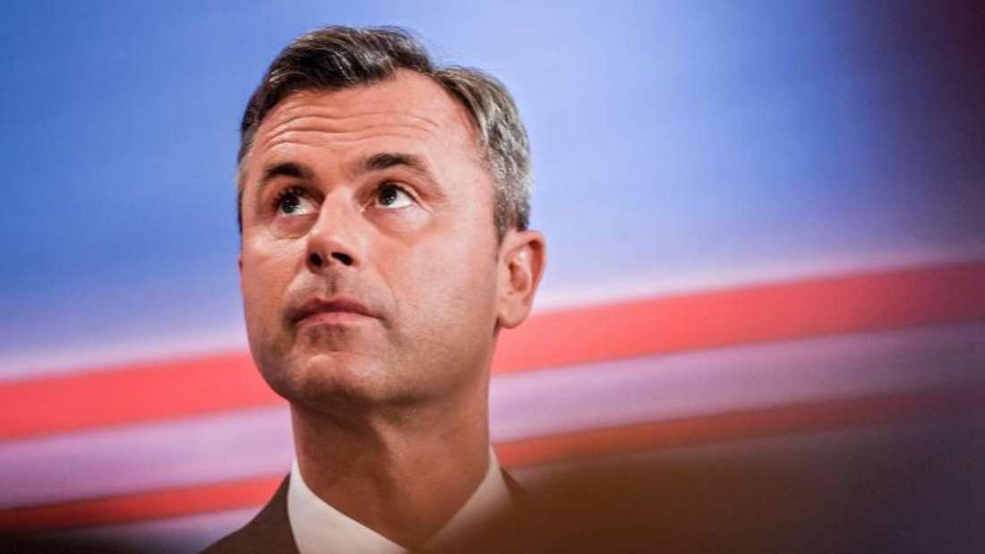 FPÖ-Kandidat Norbert Hofer bekam rund 35 Prozent der Stimmen und lag damit weit vor den anderen Kandidaten. Foto:Filip Singer