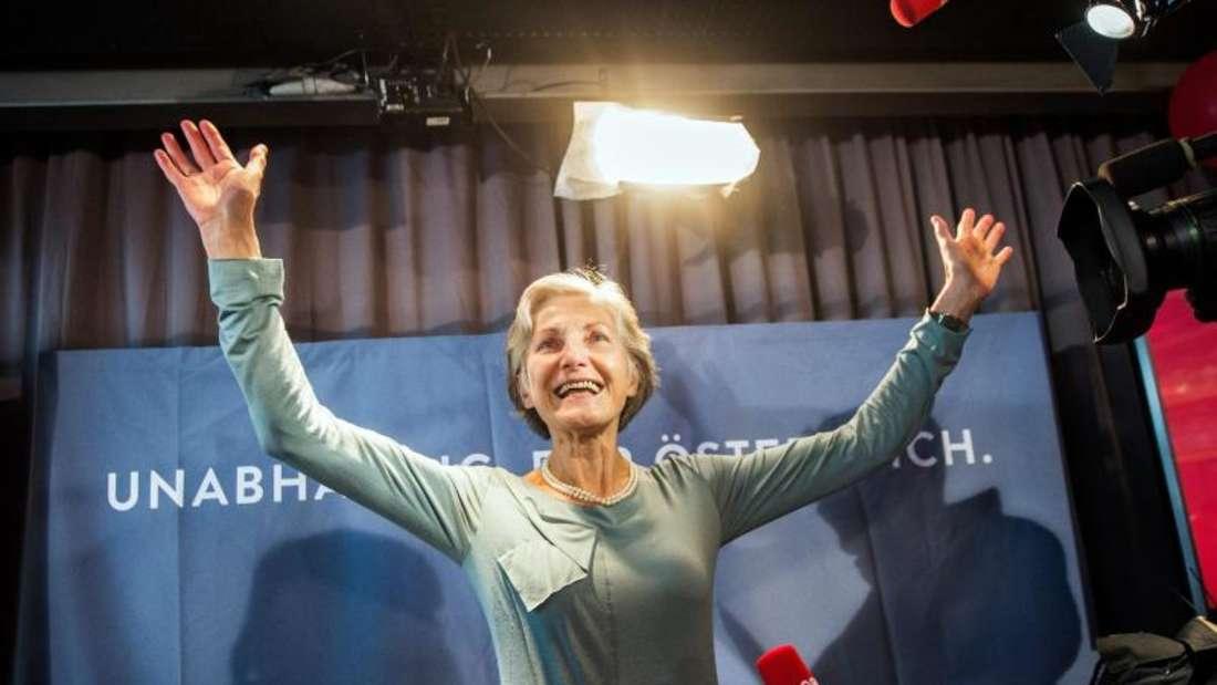 Die unabhängige Ex-Richterin Irmgard Griss überzeugte 19 Prozent der Wähler. Foto: Christian Bruna