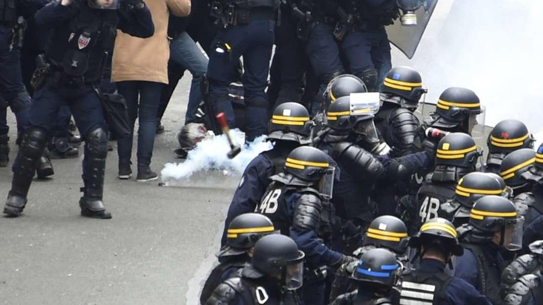 Krawalle Frankreich