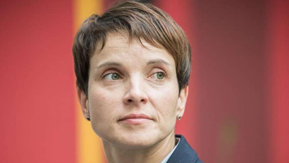 Frauke Petry ist die Bundesvorsitzende der AfD.Foto: Michael Kappeler/Archiv