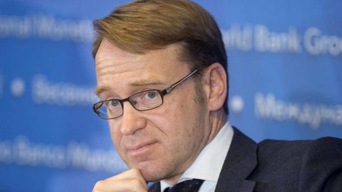 Bundesbank-Präsident Jens Weidmann verteidigt die Geldpolitik der Europäischen Zentralbank.