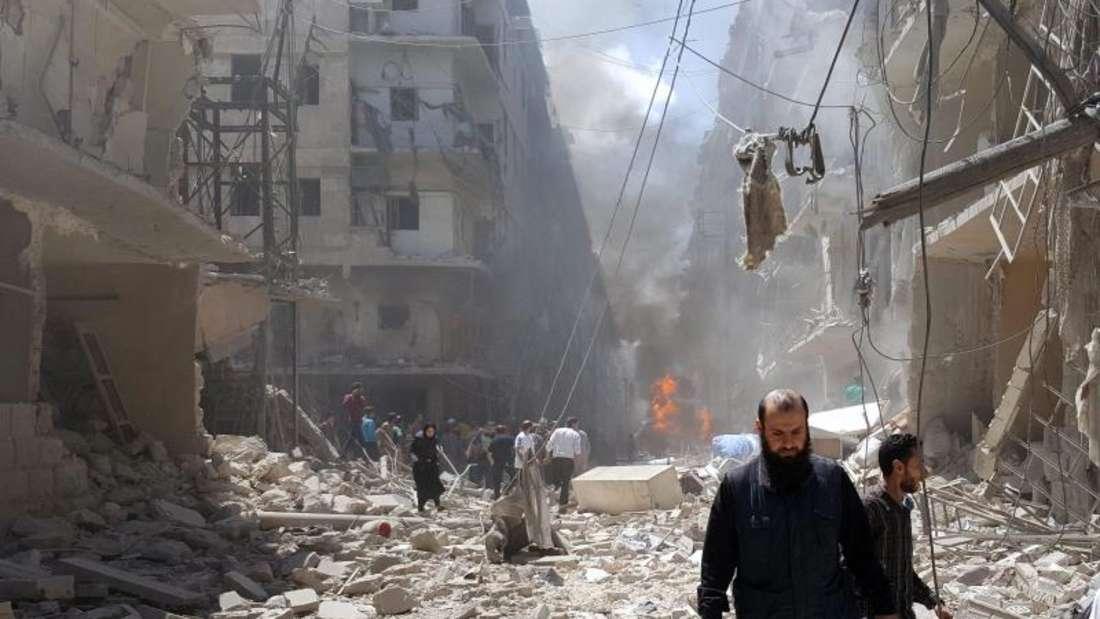 Die von den USA und Russland ausgehandelte Feuerpause war in den vergangenen Tagen immer brüchiger geworden. Foto: Zouhir Al Shimale