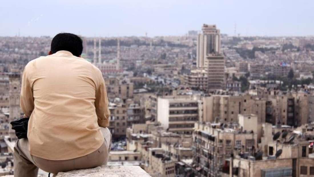 Vor den zahlreichen Gefechten, Autombomben und Luftangriffen war Aleppo ein florierendes Handelszentrum. Das Bild stammt aus dem Jahr 2010. Im März des folgenden Jahres begann der Bürgerkrieg. Foto: Manuel Meyer/Archiv
