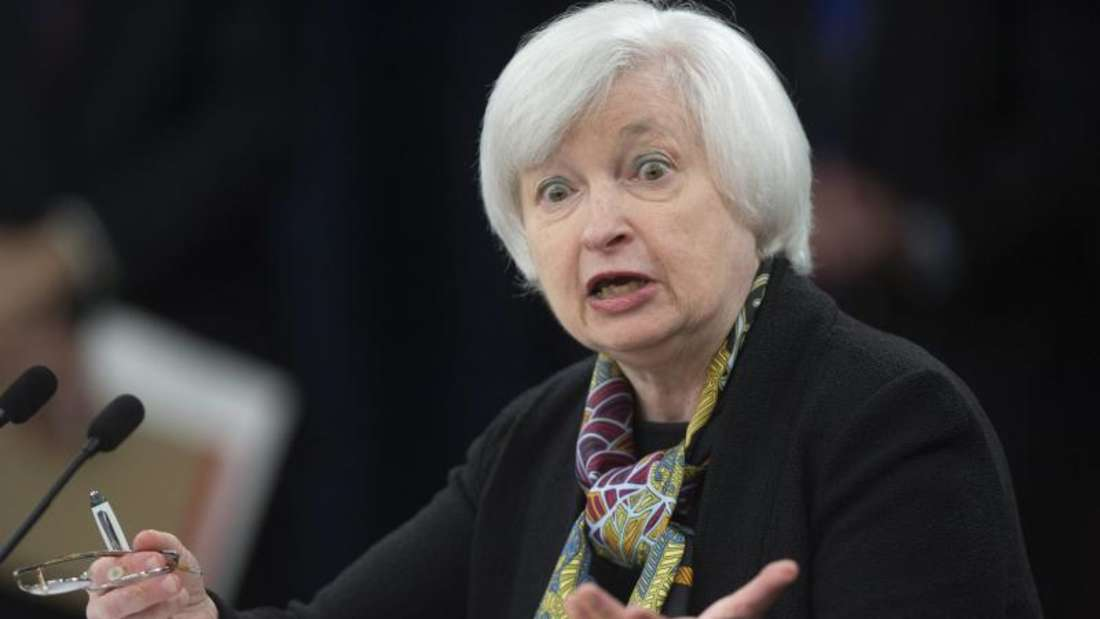 Als Auslöser der neuerlichen Dollar-Stärke nannten Fachleute Äußerungen der amerikanischen Notenbankchefin Janet Yellen. Foto: Shawn Thew