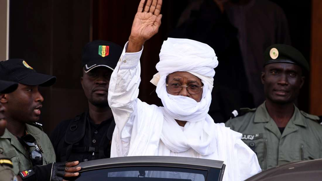 UrteilTschads Ex-Diktator Hissène Habré Gefängnis