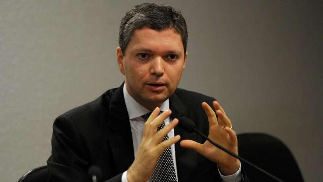 Transparenz-Minister Silveira störte sich offenbar an den laufenden Korruptionsermittlungen. Foto: Brazil National Council Of Justice