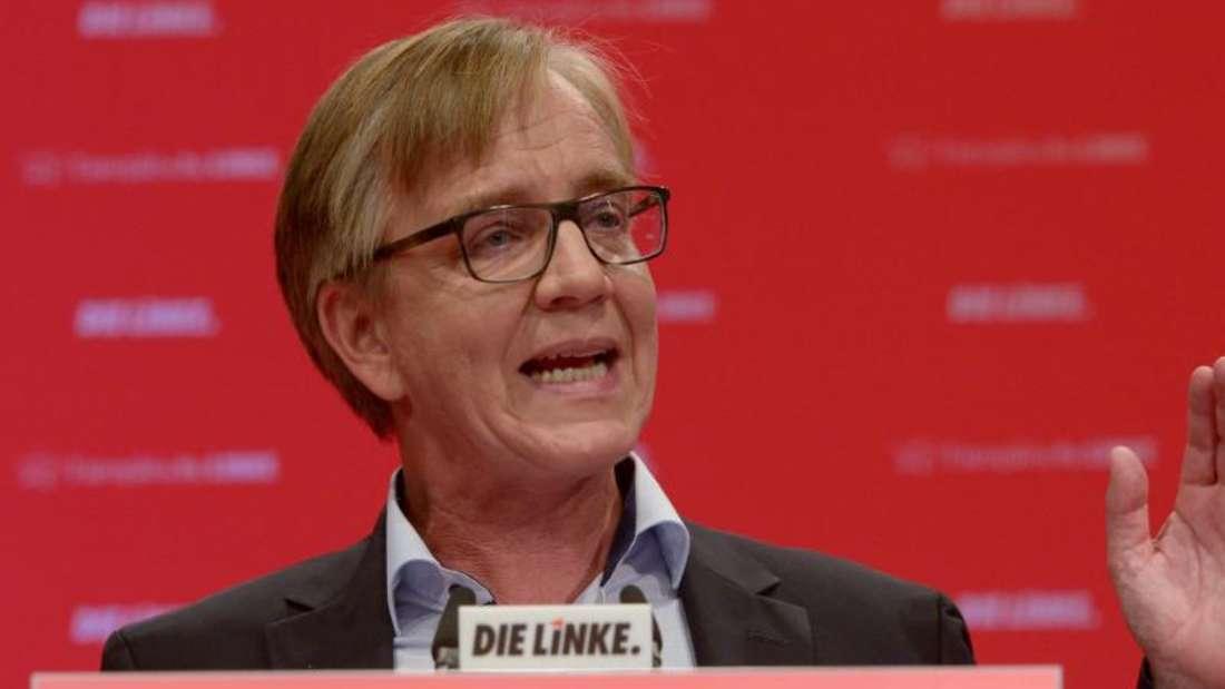 Der Fraktionsvorsitzende der Partei Die Linke im Bundestag, Dietmar Bartsch. Foto: Peter Endig/Archiv
