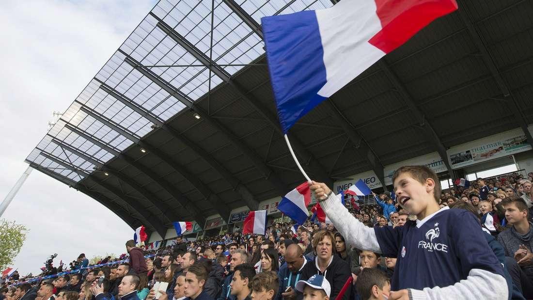 Französische Fußballfans