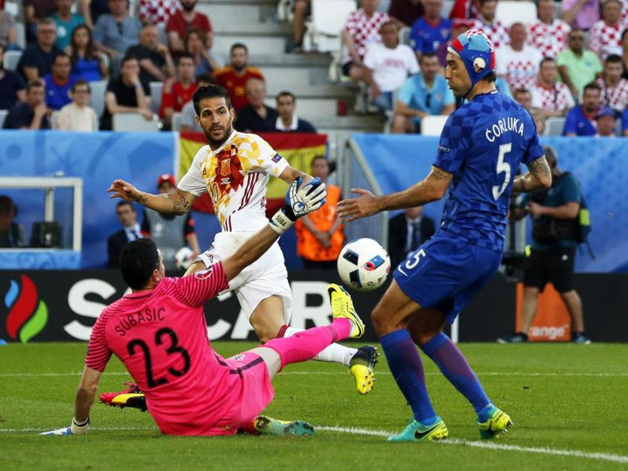 Spiel Kroatien Spanien