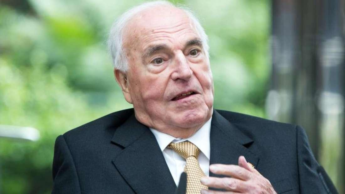 Warnt nach dem Brexit-Votum vor Kurzschlussreaktionen: Altkanzler Helmut Kohl. Foto: Michael Kappeler/Archiv