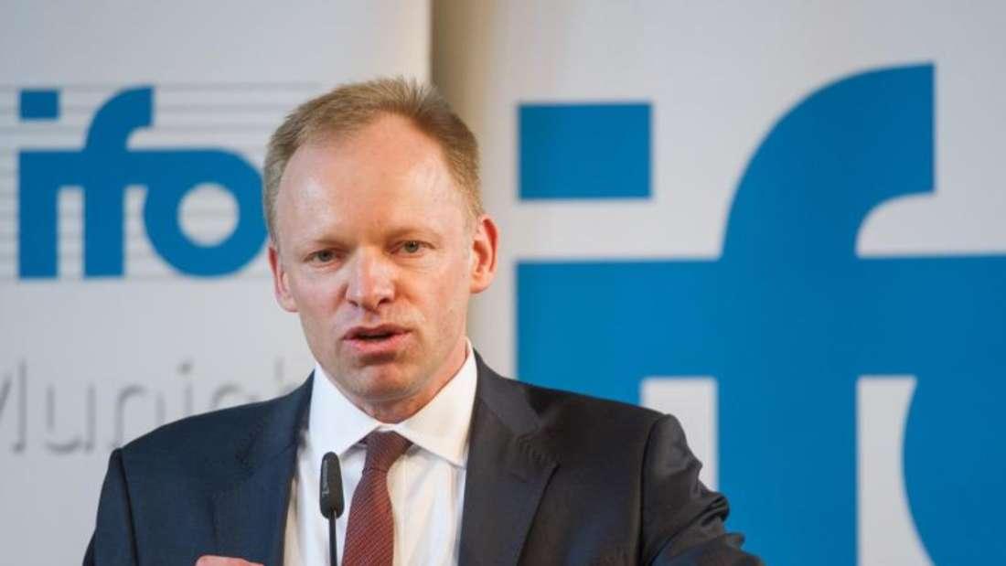 Der Präsident des ifo-Instituts, Clemens Fuest. Foto: Christina Sabrowsky