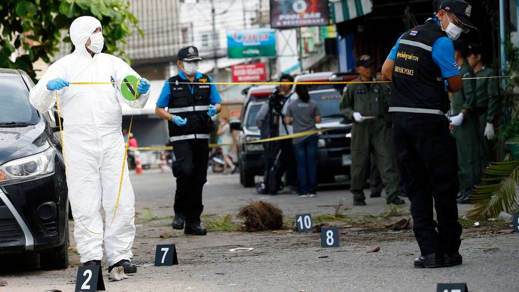 At least two dead and more than 20 injured in a series of bomb at