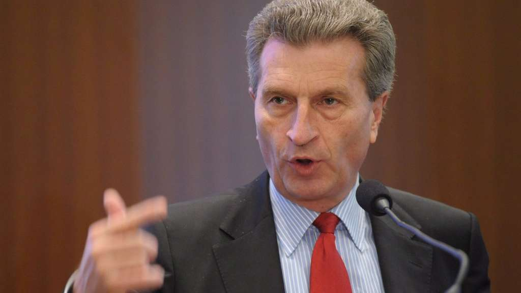 Günter Oettinger.